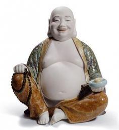 Lladro porcelain Happy Buddha