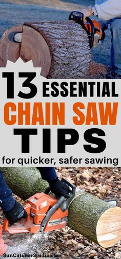 How to Use a Chainsaw (Sharpening, Repair, and Safety Tips)