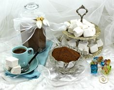 Salted Caramel Hot Chocolate Mix and Homemade Vanilla Marshmallows | Mom it Forward - Put your hot gourmet mix in your Large mug, heat 8oz. of water to a rolling boil in the microwave, add half the water, add 1oz. Buttershots and 1oz. Bailey's stir well, and add the rest of the boiling water