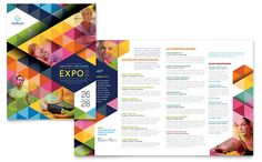 Health Fair Brochure Design Template by StockLayouts