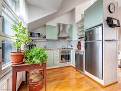 What a lovely kitchen / Ihana keittiö <3 #oikotieasunnot #keittiö #koti