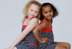 Beautiful black and white twins Kian and Remee turn seven - Parentdish UK