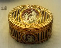 French Gold and Enamel Box, 1778