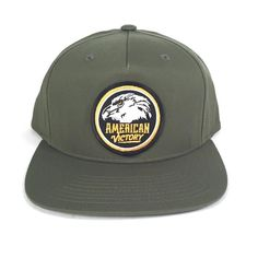 Show your American pride in this victorious cap, featuring a clean & classic logo with the always stoic bald eagle profile.