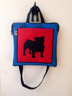 Hande made bulldog bag made by ZsurigoWorks. You can order at her facebook page.