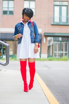 link in bio Denim Shirt Dress Outfit, Jean Jacket Outfits, Fall Outfits, Casual Outfits, Cute Outfits, Fashion Outfits, Work Outfits, Men Fashion, Summer Outfits