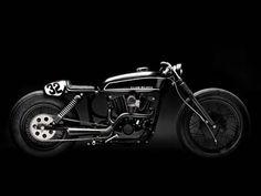ϟ Hell Kustom ϟ: Harley Davidson Sporster By Wrenchmonkees #harleydavidsonstreet750caferacers