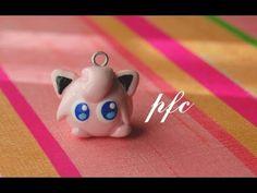 Jigglypuff Pokémon Polymer Clay Charm Tutorial by PuddingFishCakes on Youtube.