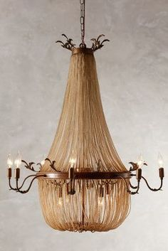 Anthropologie Palais Chandelier #anthrofave