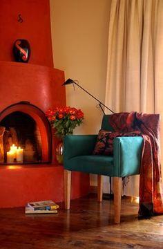 Fireplace photography santa fe style kiva adobe new for Southwestern fireplaces