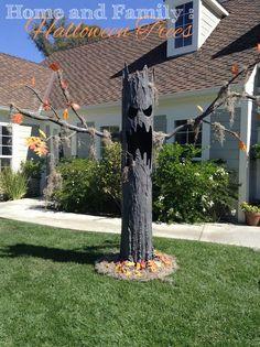 Halloween Outside, Halloween Graveyard, Halloween Trees, Holidays Halloween, Spooky Halloween, Halloween Crafts, Halloween Foods, Halloween Season, Halloween Makeup