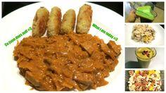 Co jsem dnes jedl Vegan Food, Vegan Recipes, Goulash, Tofu, Smoothie, Beef, Chicken, Meat, Veggie Food