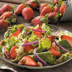 Asparagus Berry Salad Recipe...