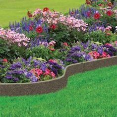 Multy Home Coiled Garden Border Lawn Edging allows you to customize your border . Multy Home Coile Tire Garden, Garden Care, Water Garden, Lawn And Garden, Lawn Edging, Garden Edging, Garden Borders, Landscaping Tips, Front Yard Landscaping
