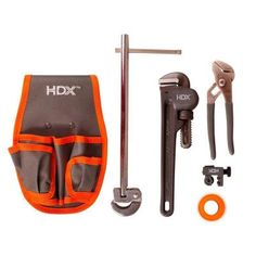 Plumbing Tool Repair Kit with Pouch