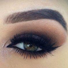 Imagen vía We Heart It #beautiful #beauty #eye #eyebrows #eyes #girl #girls #makeup #make-up #makeup #mascara #woman #women