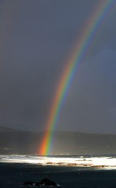 Al despertar, un arco iris. Feliz lunes (II).