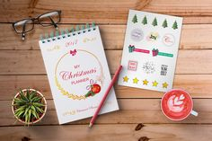 Christmas Planning by lisamoon on @creativemarket