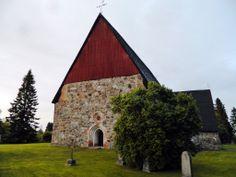 Old church Isokyrö. Isonkyrön vanha kirkko. Finland.