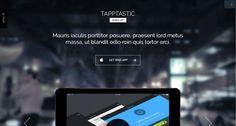 Tapptastic app WP template