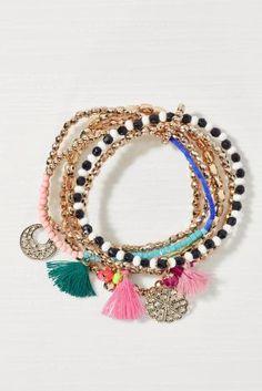 Buy Boho Bright Expander Bracelets Pack from the Next UK online shop