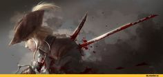 BloodBorne, Dark Souls, fandom, Lady Maria, BB characters, game art, Games