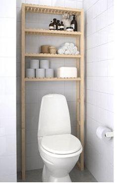 Compact Living – PANKPRAKTIKAN Compact Living, Tiny Living, Ikea Bathroom, Small Bathroom, Toilet Shelves, Over Toilet, Tiny Apartments, Aesthetic Rooms, Dream Bathrooms