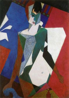 Jean Metzinger  Femme au miroir  1916
