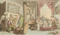 'The Family of Children' English Dance of Death, Thomas Rowlandson, 1814 At Bertram's Hotel, Margaret Rutherford, Dance Of Death, Angela Lansbury, Miss Marple, Filming Locations, Agatha Christie, Flora And Fauna, English