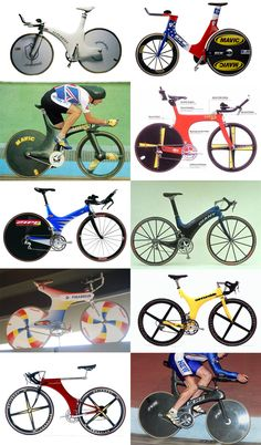 Just noticed this on Pinterest- a collage of some of my favorite pre-Lugano Charter (1996) bikes from one of my old posts at BicycleDesign.net
