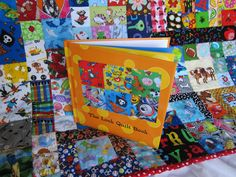 Children's Large Look Quilt I Spy Quilt with by StitchNWine
