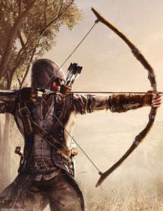 Connor from assassin's creed III #bow