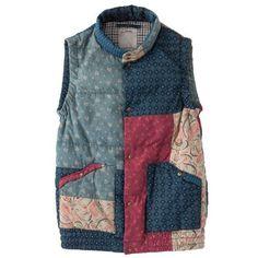 patchwork vest - Людмила Мизерова