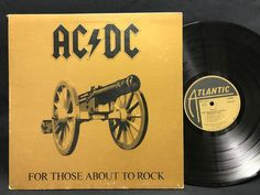 AC/DC - For Those About To Rock - 1981 LP #Masterdisk RL SD 11111 #Vinyl Record