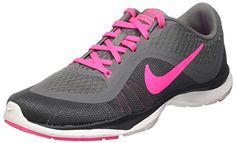 f629fa5f3e439 Nike Womens Wmns Flex Trainer Cool Grey Pink Blast-Dark Grey-Anthracite