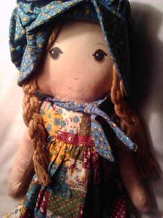Original Vintage Holly Hobbie Doll by JJSpecialtyproducts on Etsy
