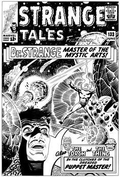 """Steve Ditko """"Stange Tales"""" (1965)"""