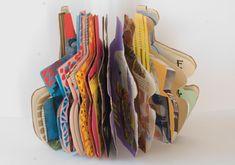 Murcia, Shoe Rack, Ideas, Sketch, Construction, Book, Artist's Book, Wool Yarn, Modern Art
