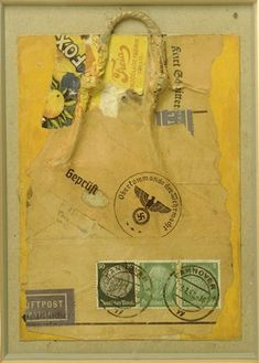 Kurt Schwitters, Censored, 1940
