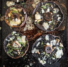 With their dense texture and rich flavor, roasted portobello mushrooms make a satisfying vegetarian main course. You can also put the roasted caps between toasted slices of rustic country bread for...