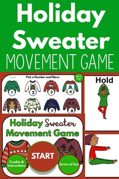 This game is the perfect holiday gross motor activity. The digital format allows you to use it for both in person and distance learning. Your kids will LOVE the timer countdowns! Work on numbers and movement. This is great for a classroom, physical therapy, occupational therapy, physical education and beyond! Your kids will LOVE this and so will you!
