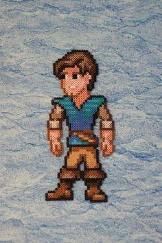 Flynn Rider Bead Sprite by ~Nicolel12 on deviantART