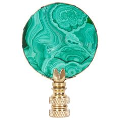 Hillary Thomas Malachite Finial