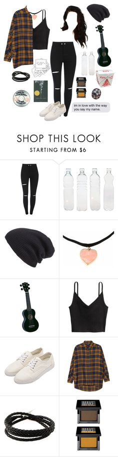 """""""Say my name"""" by prttylilgirl ❤ liked on Polyvore featuring Seletti, Leith, Monki, Shaun Leane and Make"""