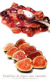 Bonjour, aujourd'hui je vous invite à découvrir la succulente combinaison : figues et amandes.