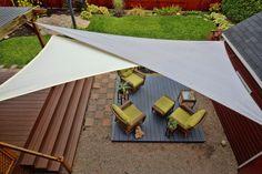 IDZEN - Une voile d'ombrage pour rafraîchir la terrasse avec élégance - Économie - Québec Hebdo