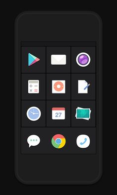 Flat Icons and Web Elements