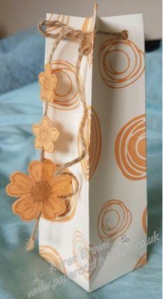 Karen's Crafty Creations: Peaches and Cream #swirlybird, #stampinup, #peekaboopeach