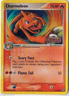Charmeleon - HP: 70 - Fire Pokemon - Flame Pokemon - $0.35-$0.69.