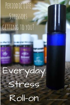 Essential oil #DIY for #stress from work or other every day activities